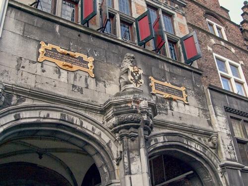 Kerkboog Nijmegen © Hans van Meteren