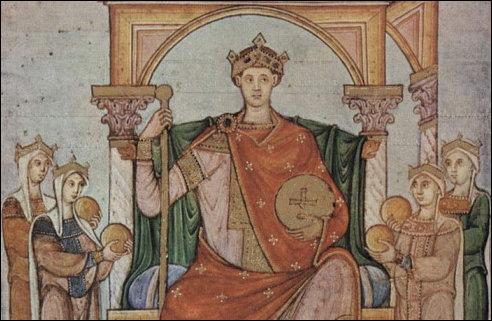 Otto II keizer van het Heilige Roomse Rijk
