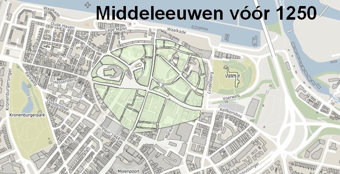 Kaartje Nijmegen voor 1250